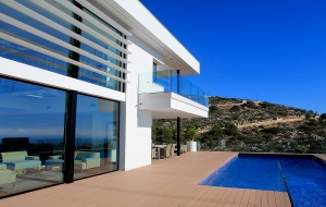 New built villa for sale in Moraira.with sea view