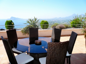 Penthouse With The Perfect View In Altea Hills
