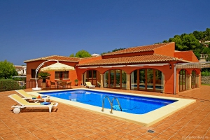 Villa with a lot of privacy in Javea