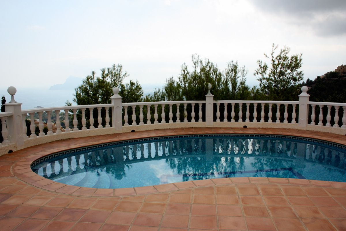 Lovely villa with exceptional views in Altea Hills