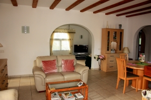 Cozy villa with pool in Calpe for sale