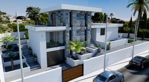 New to build modern and luxury  villa in Calpe for sale