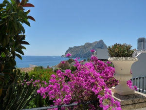 Villa within easy walking distance to the beach in Calpe