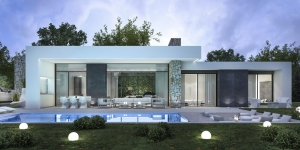 New villa in modern Design close to amenities and beaches in Javea
